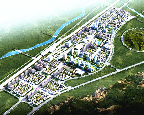 海东市体育中心效果图